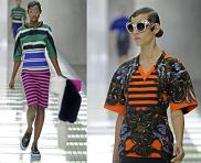 Ready to wear Spring Summer 2011  Prada Milan September 2010  PHOTO: EAST NEWS / ZEPPELIN