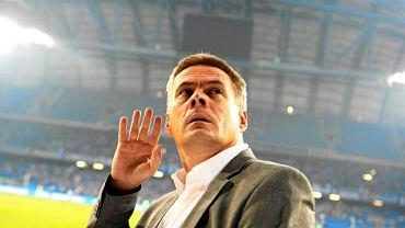 Jacek Zieliński jako trener Lecha Poznań
