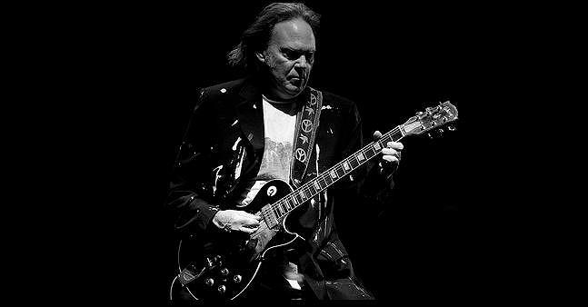 Neil Young, fot. mat. prasowe