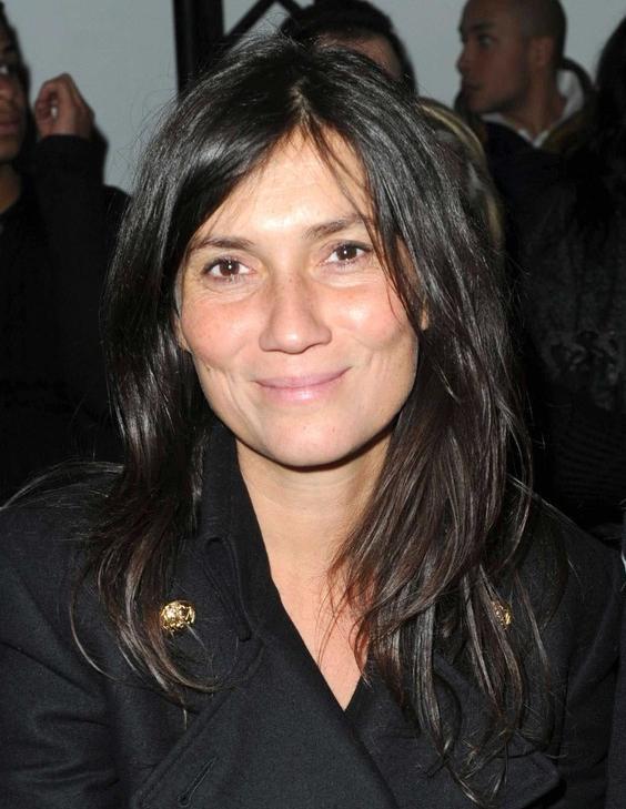 Emmanuelle Alt (redactrice vogue Paris) Defile de mode