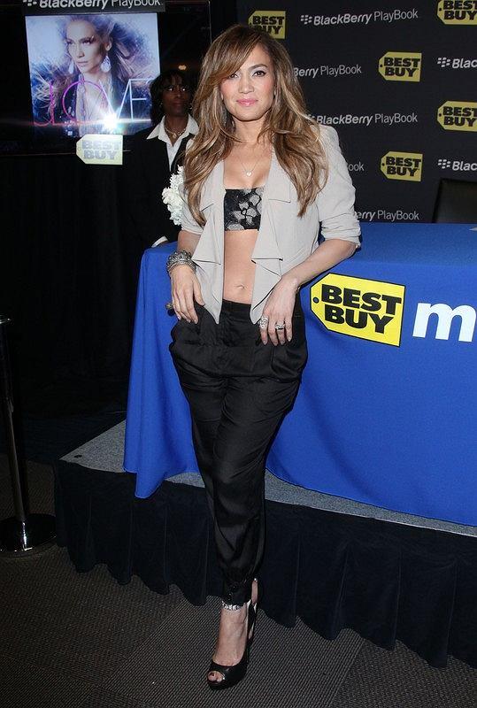 Jennifer Lopez na spotkaniu z fanami
