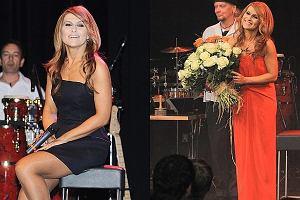 Kasia Skrzynecka wielokrotnie była krytykowana za swój styl a w zasadzie za jego brak. Na szczęście na premierze najnowszego albumu For Tea prezentowała się znakomicie. Na scenie wystąpiła w dwóch kreacjach. Najpierw w długiej pomarańczowej sukni, a później w krótszej granatowej. Zobaczcie jak wyglądała.
