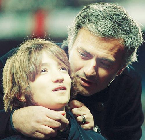 Jose Mourinho z synem