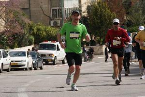 kamil dąbrowa, maraton, jerozolima