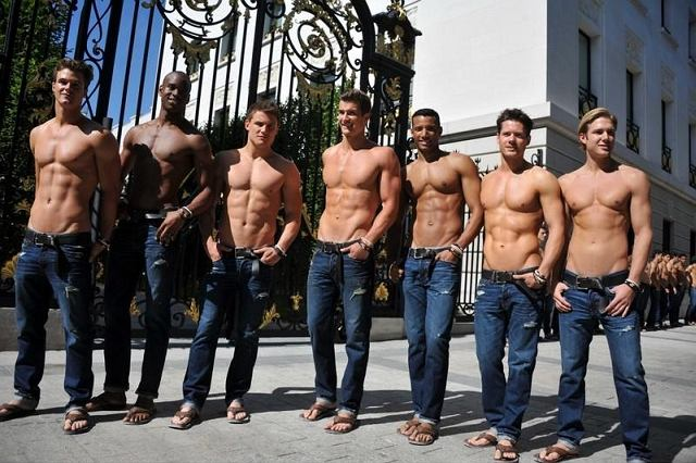 modele Abercrombie & Fitch