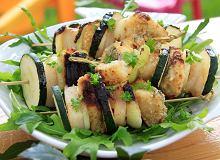 Szaszłyki z ryby i cukinii - ugotuj