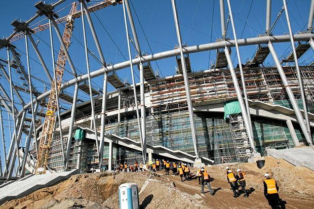Zdjęcie numer 0 w galerii - Budowa Stadionu Narodowego w Warszawie