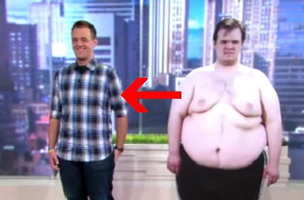 23-letni Alex zrzucił w ciągu roku prawie 100 kg.