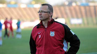 Zbigniew Kaczmarek, trener Stomilu Olsztyn