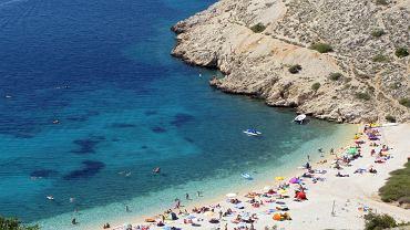Chorwacja plaże - wyspa Krk