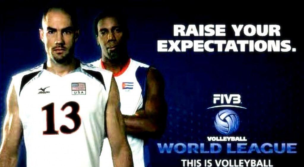 Plakat promujący rozgrywki Ligi Światowej