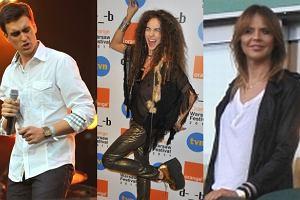 Na pierwszym dniu Orange Warsaw Festiwal oprócz światowych gwiazd wielkiego formatu takich jak: Moby, Skunk Anansie czy My Chemical Romance wystąpili nasi rodzimi artyści. Pojawiła się też Maja Sablewska, ktora przyglądała się występom uczestników programu X Factor.