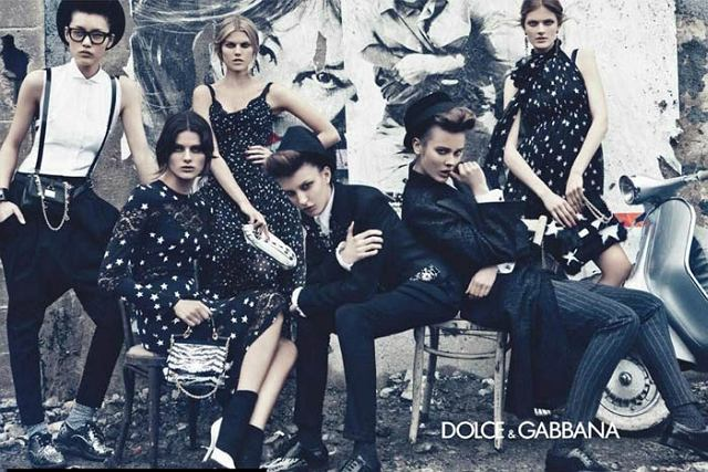 kampania Dolce & Gabbana jesień/zima 2011/2012