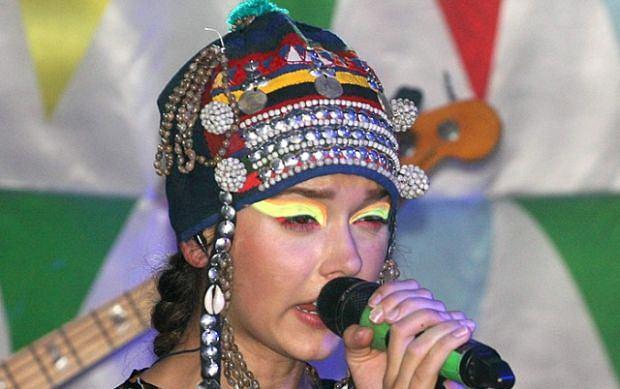 Monika Brodka na koncercie