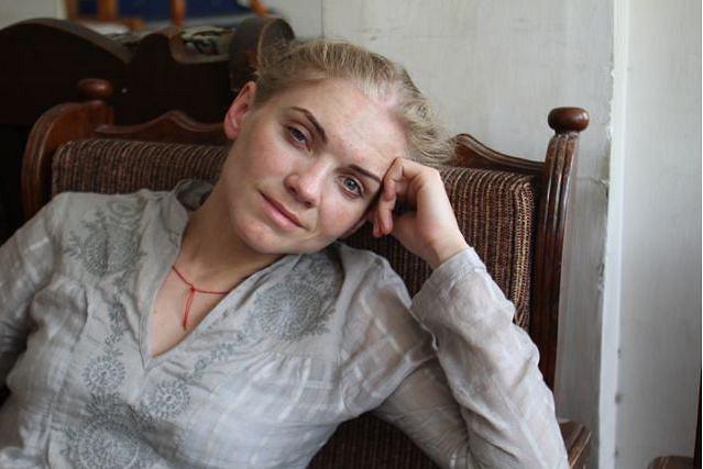 Kinga Baranowska: - Tak się wygląda po Kakakorum Highway:-)