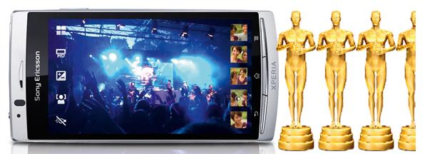 komórka, smartfon z kamerą, smartfon, Sony Ericsson, Xperia Arc