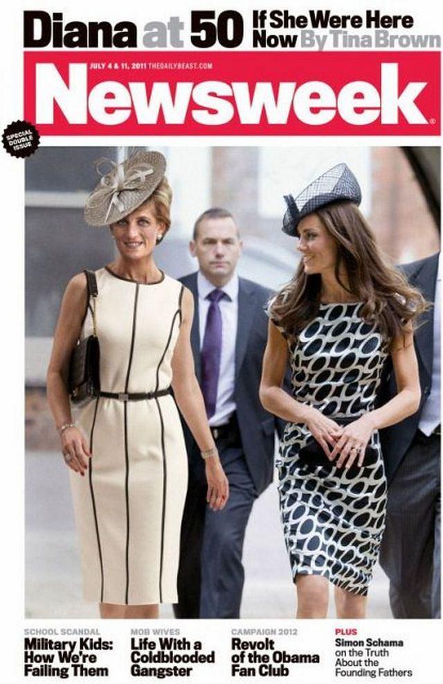 Księżna Diana na okładce Newsweeka