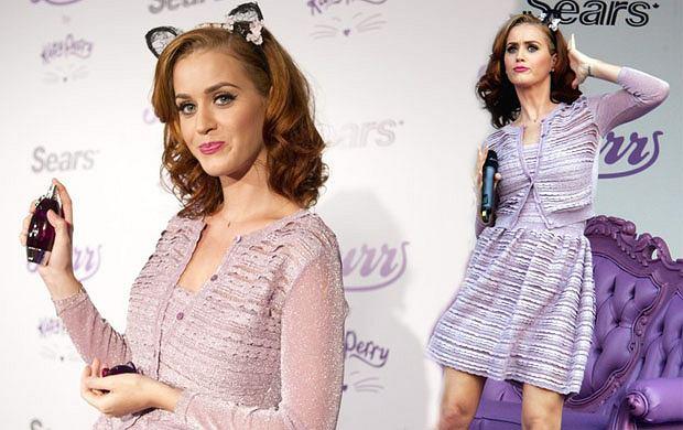 Katy Perry w rudych włosach