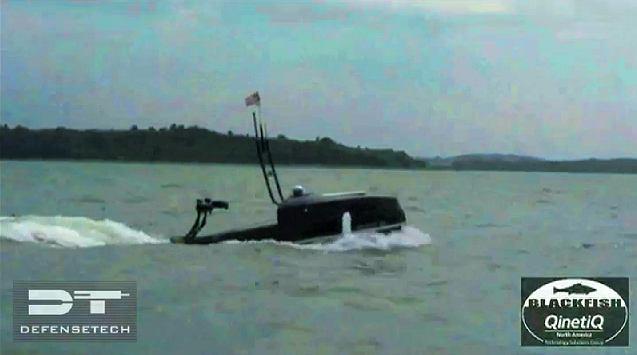Blackfish - bezzałogowa jednostka wykrywająca wrogich nurków