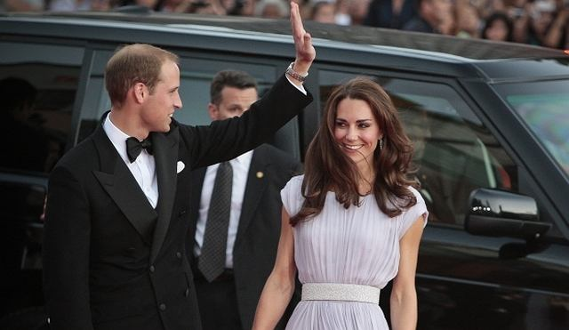 Książę William i księżna Catherine w Los Angeles