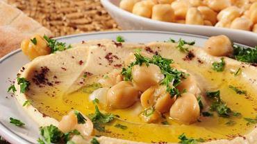 Podstawowym składnikiem hummusu jest ciecierzyca