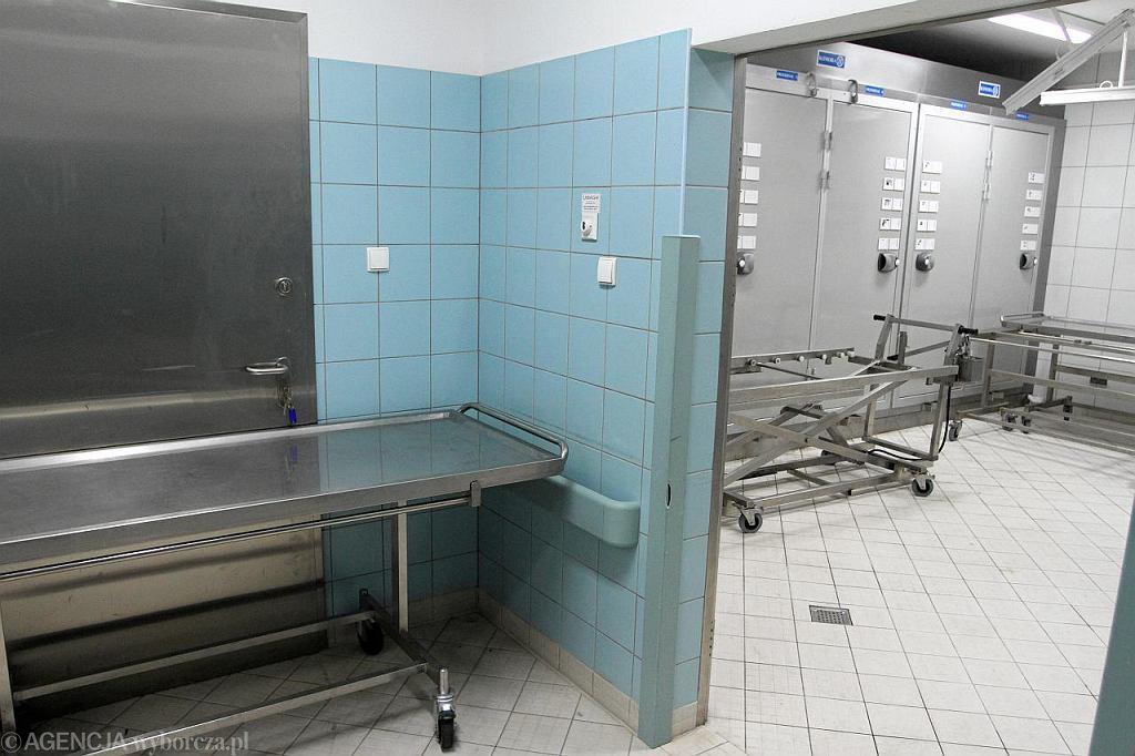 Prosektorium w Zakładzie Medycyny Sądowej we Wrocławiu