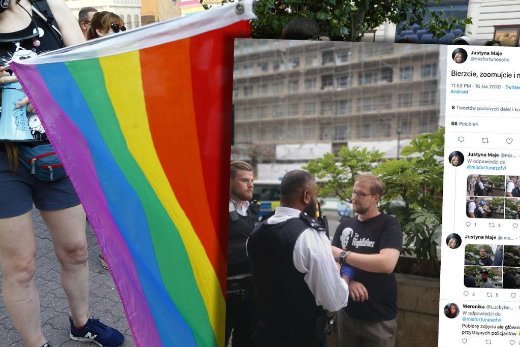 Zatrzymanie działacza KORWiN w Londynie