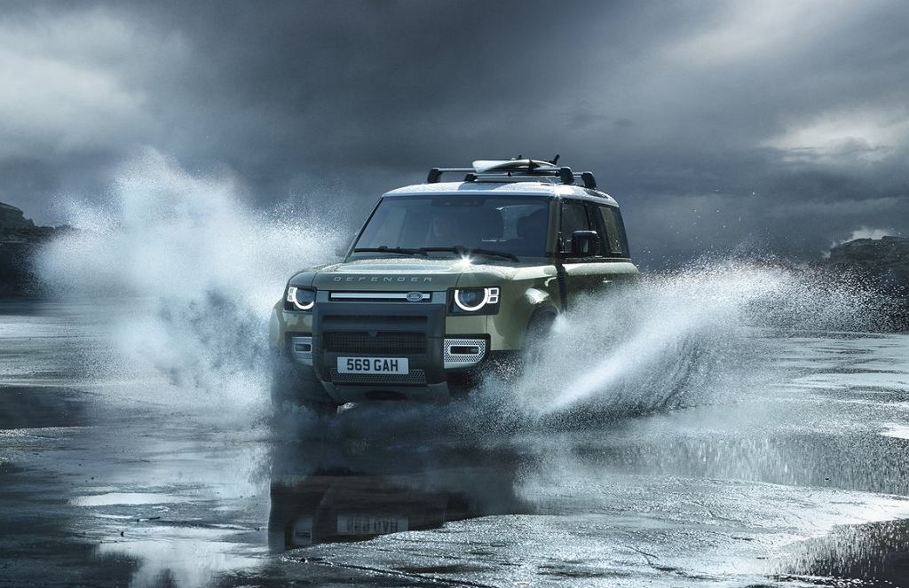 Nowy Land Rover Defender 2020