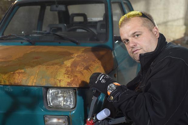 Przemysław Szafrański z 'Wojen samochodowych'