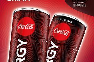 Na rynku pojawił się nowy napój energetyzujący - Coca-Cola Energy