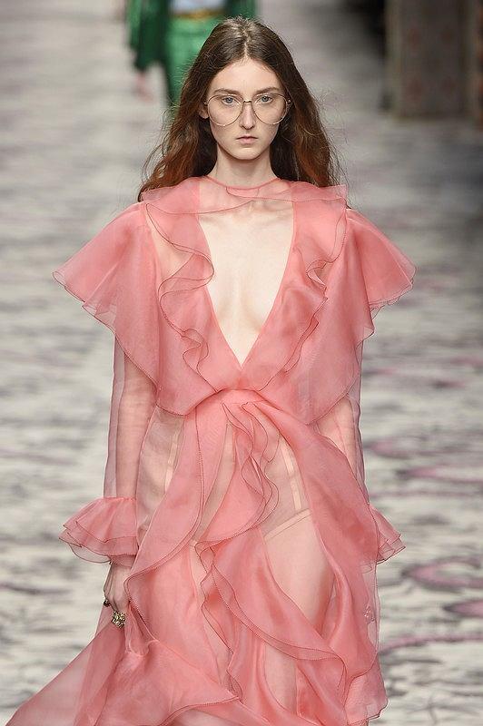 Klementyna Dmowska, pokaz Gucci wiosna-lato 2016