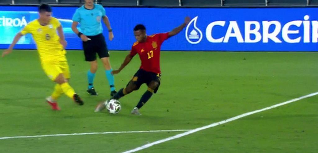 Ansu Fati błysnął w reprezentacji Hiszpanii