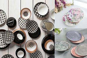 Talerze we wzory - efektowna dekoracja stołu