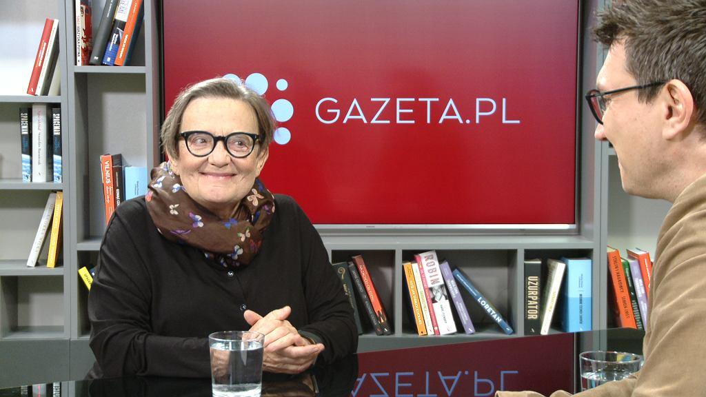 Agnieszka Holland, Poranna Rozmowa Gazeta.pl
