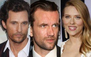 Matthew McConaughey , Tomasz Kot, Scarlett Johansson