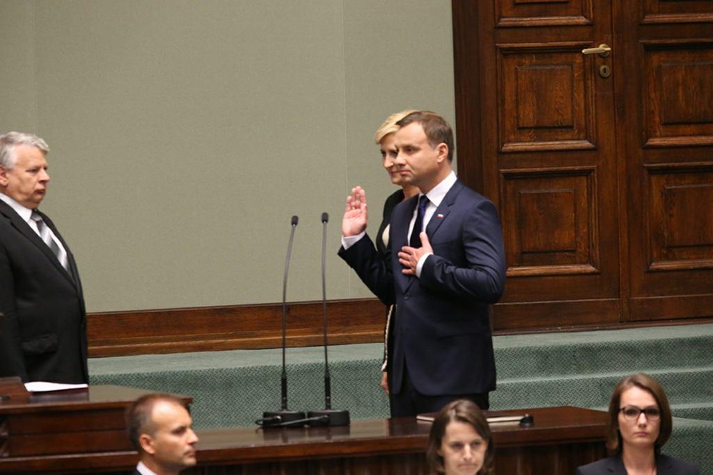 Prezydent Andrzej Duda podał termin pierwszego posiedzenia nowego Sejmu