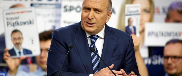 Grzegorz Schetyna: Nie mam wrażenia, że moje przywództwo jest podważane