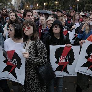 Protest przeciwko zakazowi edukacji seksualnej pod Sejm