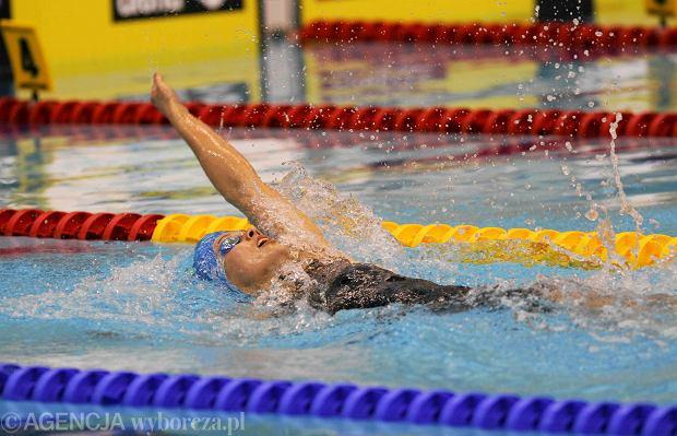 Pływanie. Rekord Polski Alicji Tchórz