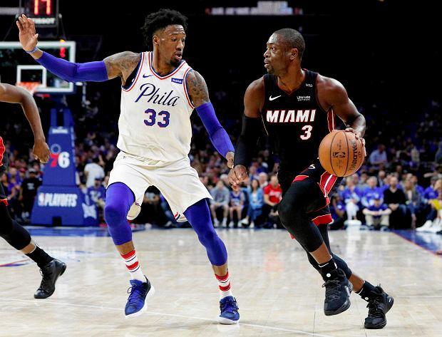 NBA. Dwyane Wade dał zwycięstwo Miami Heat. Niesamowity rzut, który przejdzie do historii [WIDEO]