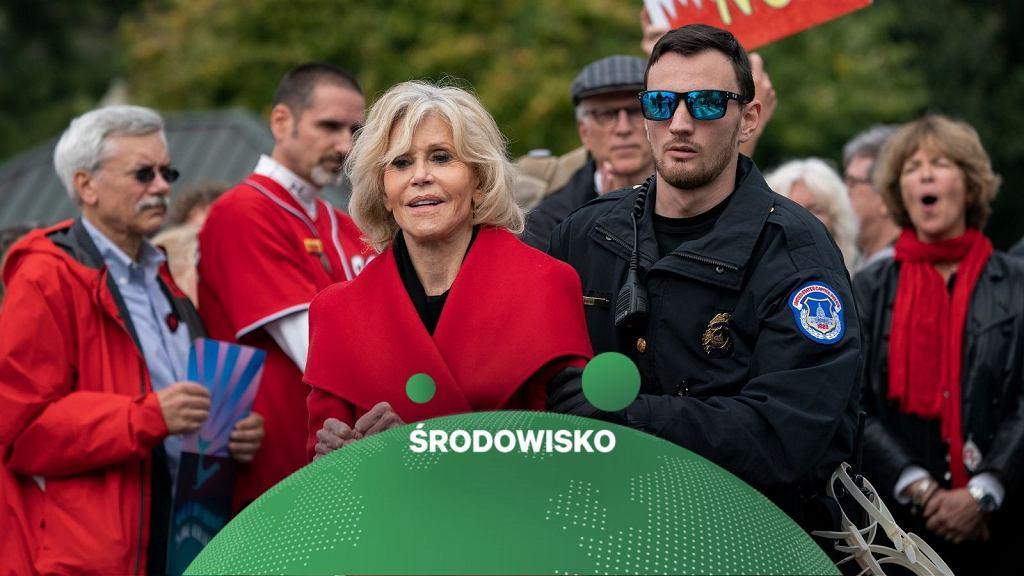 Jane Fonda zatrzymana przez policję