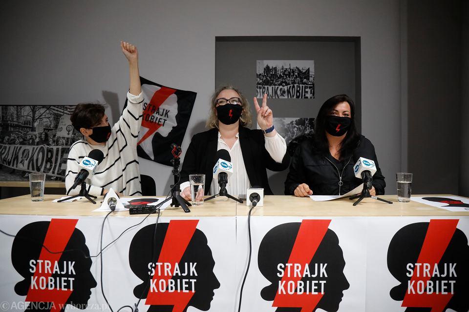 Zdjęcie numer 1 w galerii - Dymisja rządu i Julii Przyłębskiej. Czego jeszcze żąda Ogólnopolski Strajk Kobiet? Co się wydarzy w środę 28 października?