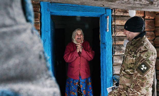 Mieszkanka strefy zamkniętej w Czarnobylu