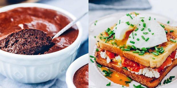 mus czekoladowy i tosty po francusku - propozycja podania Ani Starmach