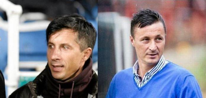 Radosław Gilewicz i Tomasz Hajto