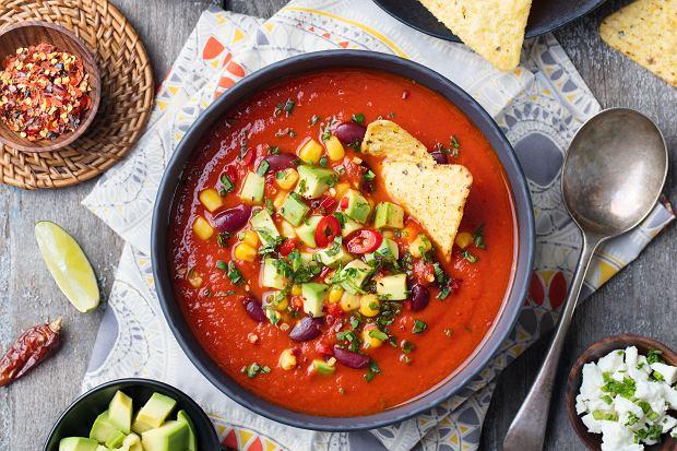 Zupa meksykańska z mięsem mielonym. Rozgrzewające danie na chłodną jesień