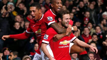 Chris Smalling, Ashley Young i Juan Mata