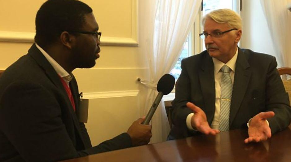 Minister spraw zagranicznych Witold Waszczykowski w BBC mówił o uchodźcach i polityce Polski