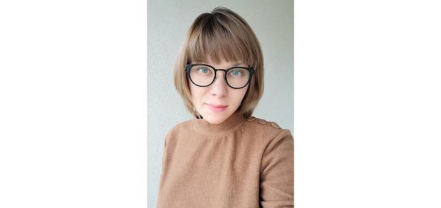 Iana Lisna-Nozykowska, psycholożka, która od dziewięciu lat pracuje w Stowarzyszeniu 'Niebieska Linia' prowadzącym Ogólnopolskie Pogotowie dla Ofiar Przemocy w Rodzinie na zlecenie Państwowej Agencji Rozwiązywania Problemów Alkoholowych (fot. Archiwum prywatne)