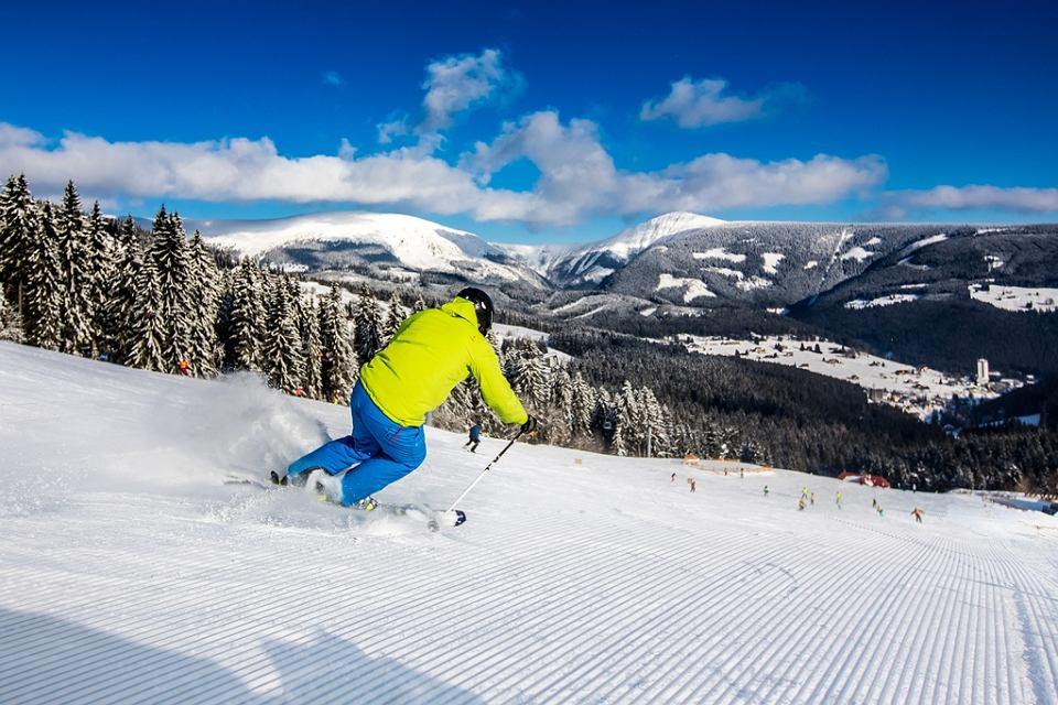 Pec pod Snežkou to bardzo popularne miejsce wśród narciarzy